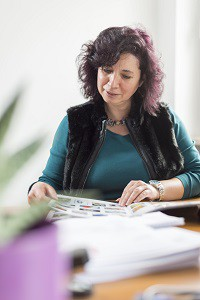 Mitarbeiterin Fischer Immobilien München - Frau Elvira Tschimmel