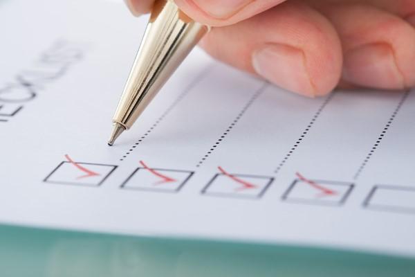 Checkliste Erbpacht - benötigte Unterlagen