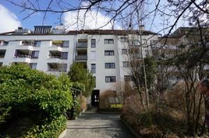 2-Zimmerwohnung Rückfassade in Obergiesing