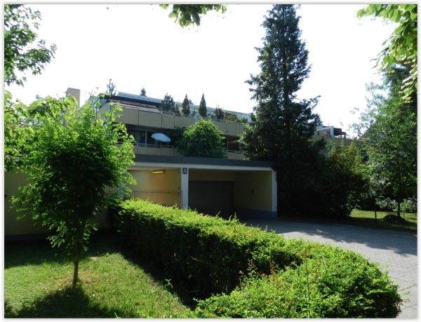 Fassade des 1-Zimmer Erbpacht-Appartements in München-Obermenzing