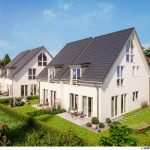 Neubau Doppelhaushaelften in Muenchen-Obermenzing