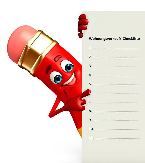 wohnungsverkauf checkliste