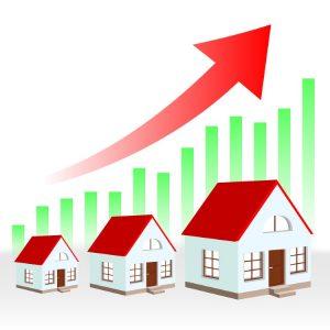 Bild zeigt eine Grafik zu steigenden Immobilienpreisen in München