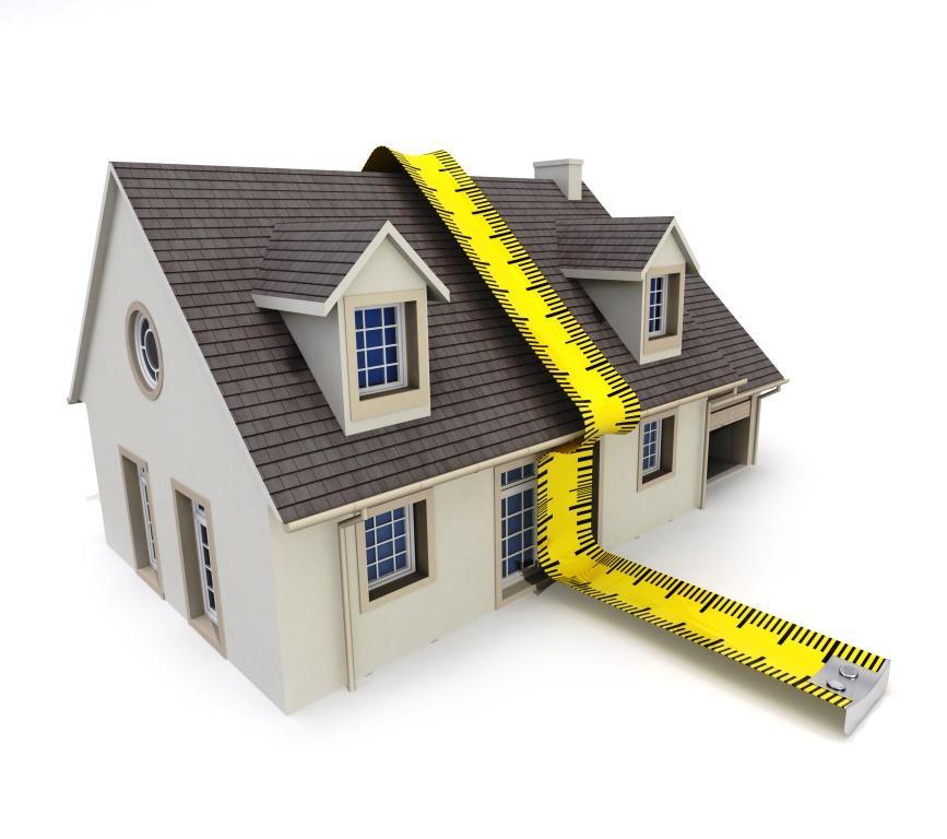 Wohnfläche richtig messen