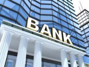 Bank-Fassade