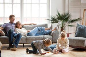 Familie Wohnzimmer