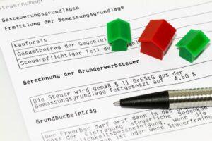 Grunderwerbssteuer Bescheid