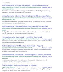 Immobilienmakler Maxvorstadt_Suche