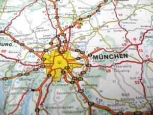 Karte München+Umland