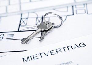 Mietvertrag+Schlüssel