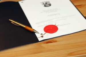 Notarieller Vertrag