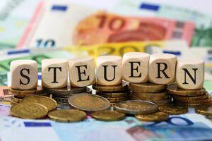 Steuern-Buchstaben