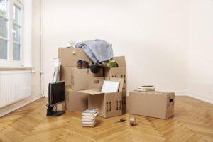 Wohnung räumen