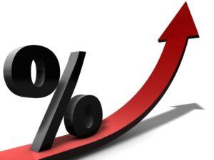 Zinssteigerung