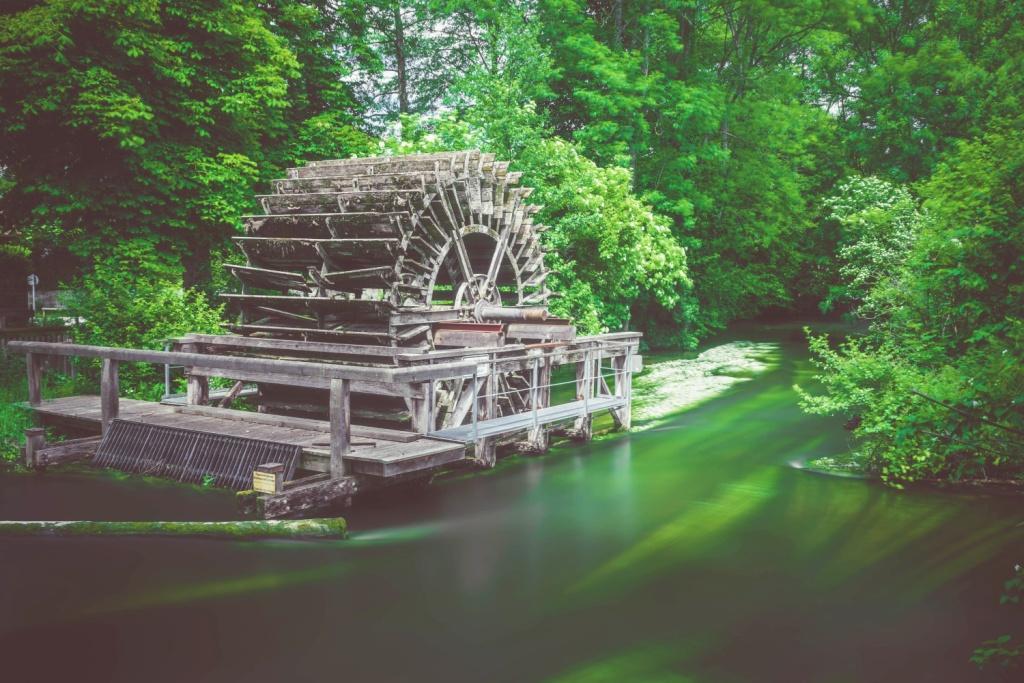 Alte Wassermühle in Gauting