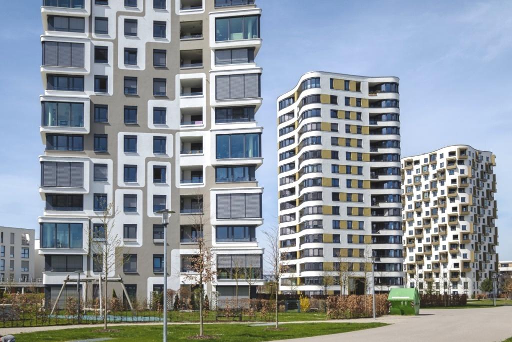 Moderner Wohnungsbau, Obersendling, München