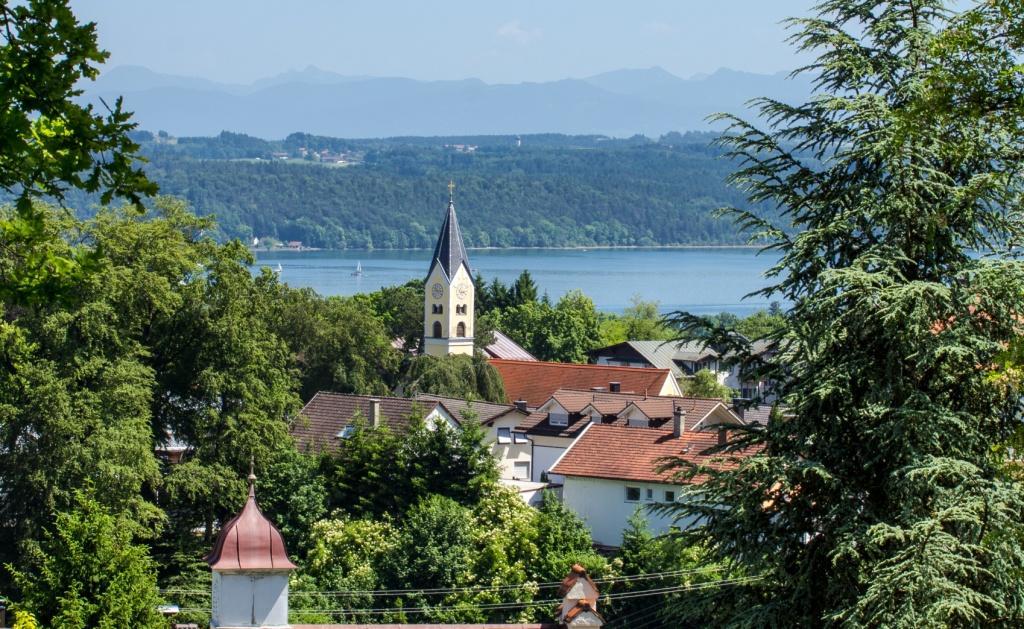 Feldafing-Kirche-See