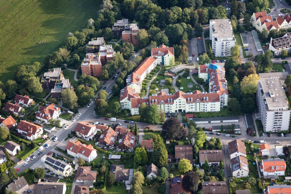 Blick auf Puchheim