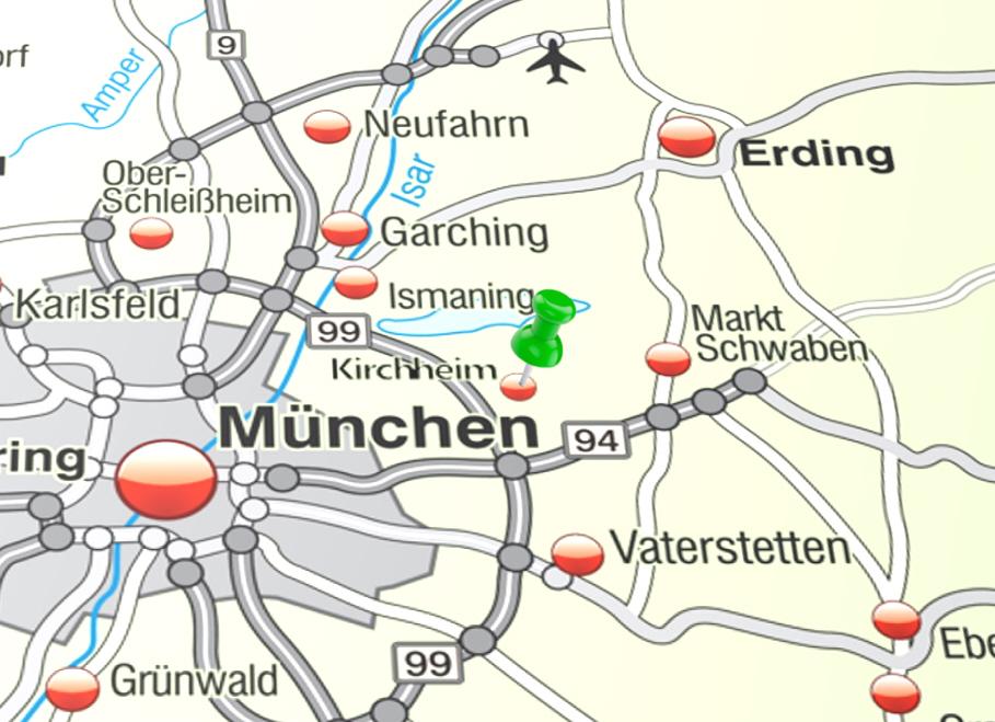 Kirchheim – Karte