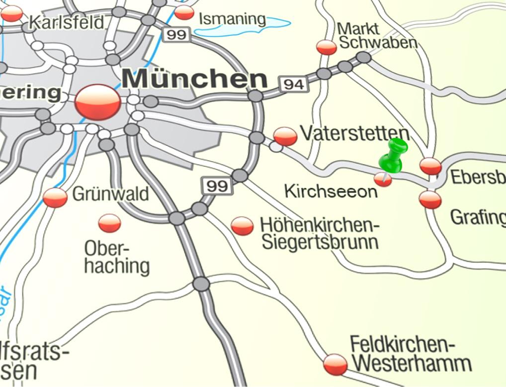 Kirchseeon – Karte