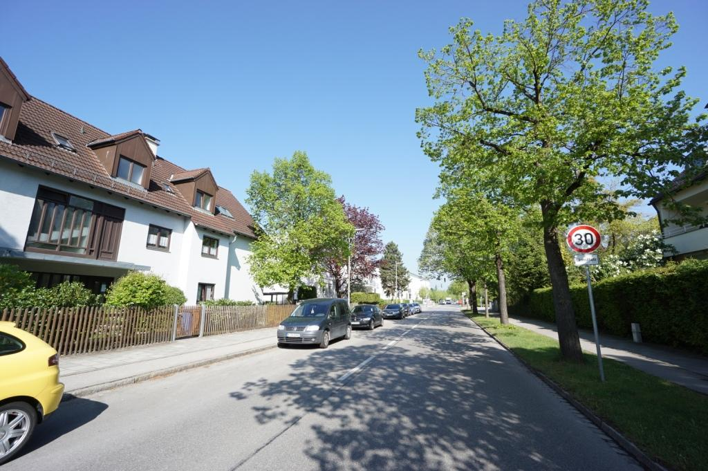Straße Untermenzing b