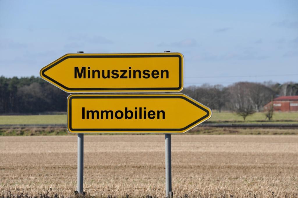 Minuszinsen vs Immobilien