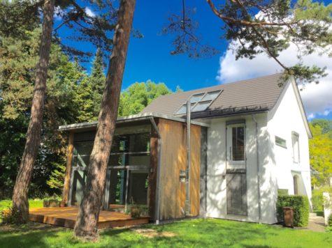 VERKAUFT- Erbpacht – Modernes EFH in Oberschleißheim  auf ruhigem Grundstück, 85764 Oberschleißheim, Einfamilienhaus