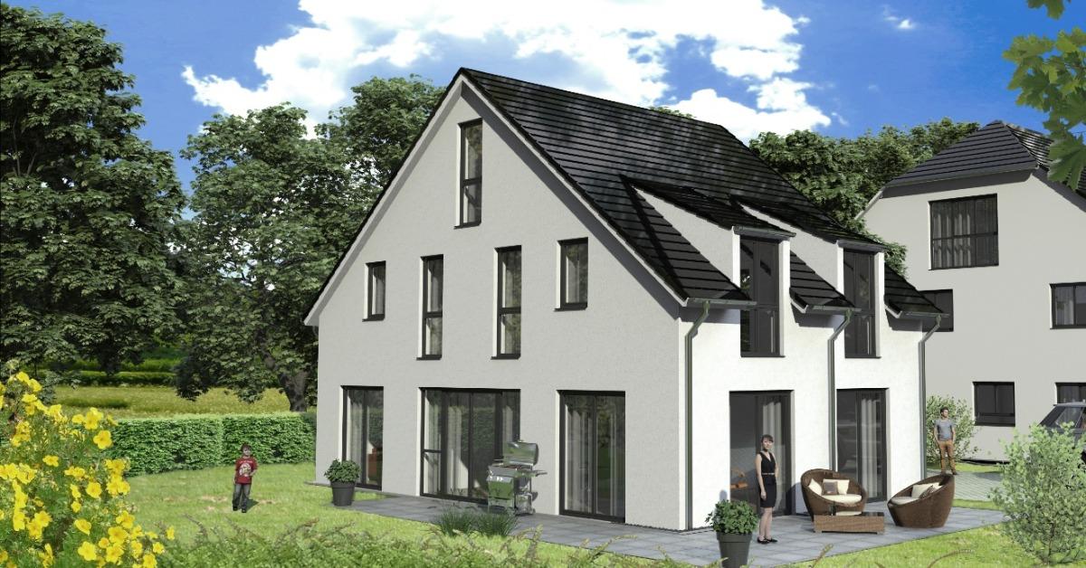 Neubau EFH, Grundstücksbesichtigung/Planeinsicht am SONNTAG 16.12. nach tel. Vereinbarung, 85540 Haar, Einfamilienhaus