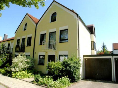 VERKAUFT – Reiheneckhaus in München Aubing, 81245 München, Reiheneckhaus