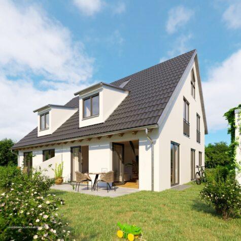 VERKAUFT – Neubau DHHe mit S/W-Ausrichtung, 80999 München, Doppelhaushälfte