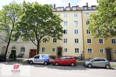 VERKAUFT – Charmanter Altbau in Giesing mit Wohnküche, 81539 München, Erdgeschosswohnung