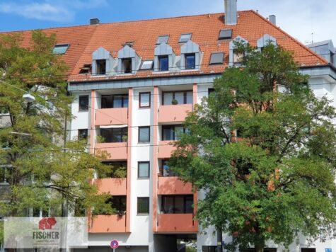 VERKAUFT – Vermietete 2-Zimmerwohnung am Giesinger Bahnhofsplatz, 81539 München, Etagenwohnung