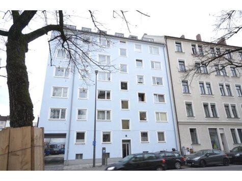 2-Zi.-Dachwohnung mit S/W-Balkon in Au-Haidhausen – VERKAUFT, 81541 München, Dachgeschosswohnung