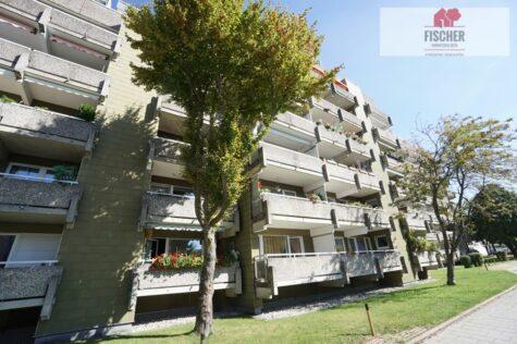 Helle, ruhige, vermietete 1,5-Zimmerwohnung in Germering mit Westbalkon – VERKAUFT, 82110 Germering, Etagenwohnung